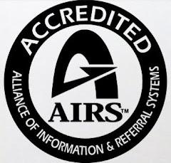 2-1-1 de Tampa Bay es un acreditado proveedor de información y referencia.