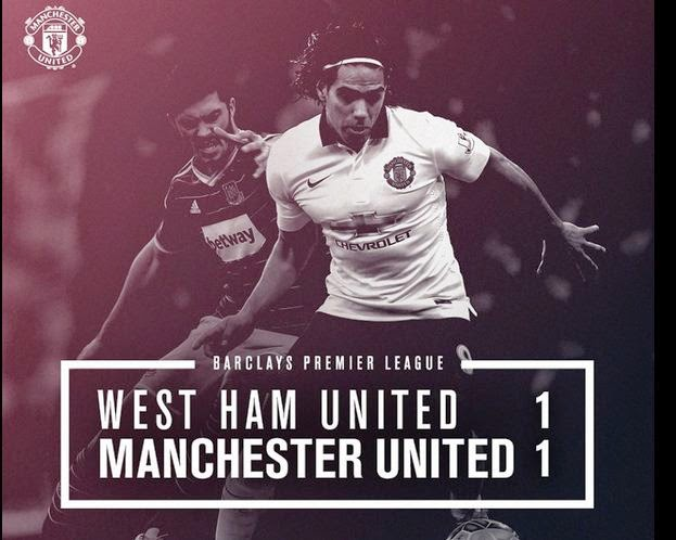 Video Gol West Ham vs Manchester United 1-1