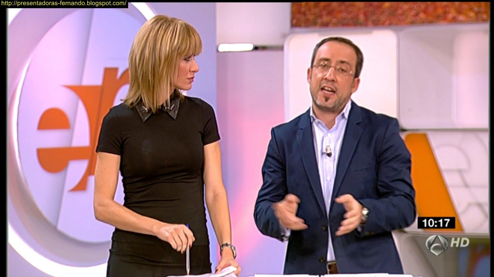 Susana Griso marcando de negro en Espejo Publico 18/10/2011