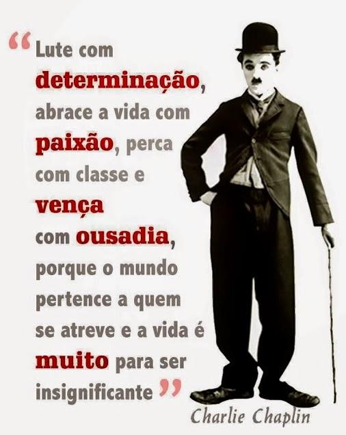 Mensagem - Charlie Chaplin