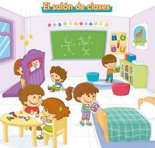 El salón de Preescolar