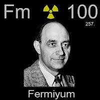 Fermiyum Elementi Simgesi Fm