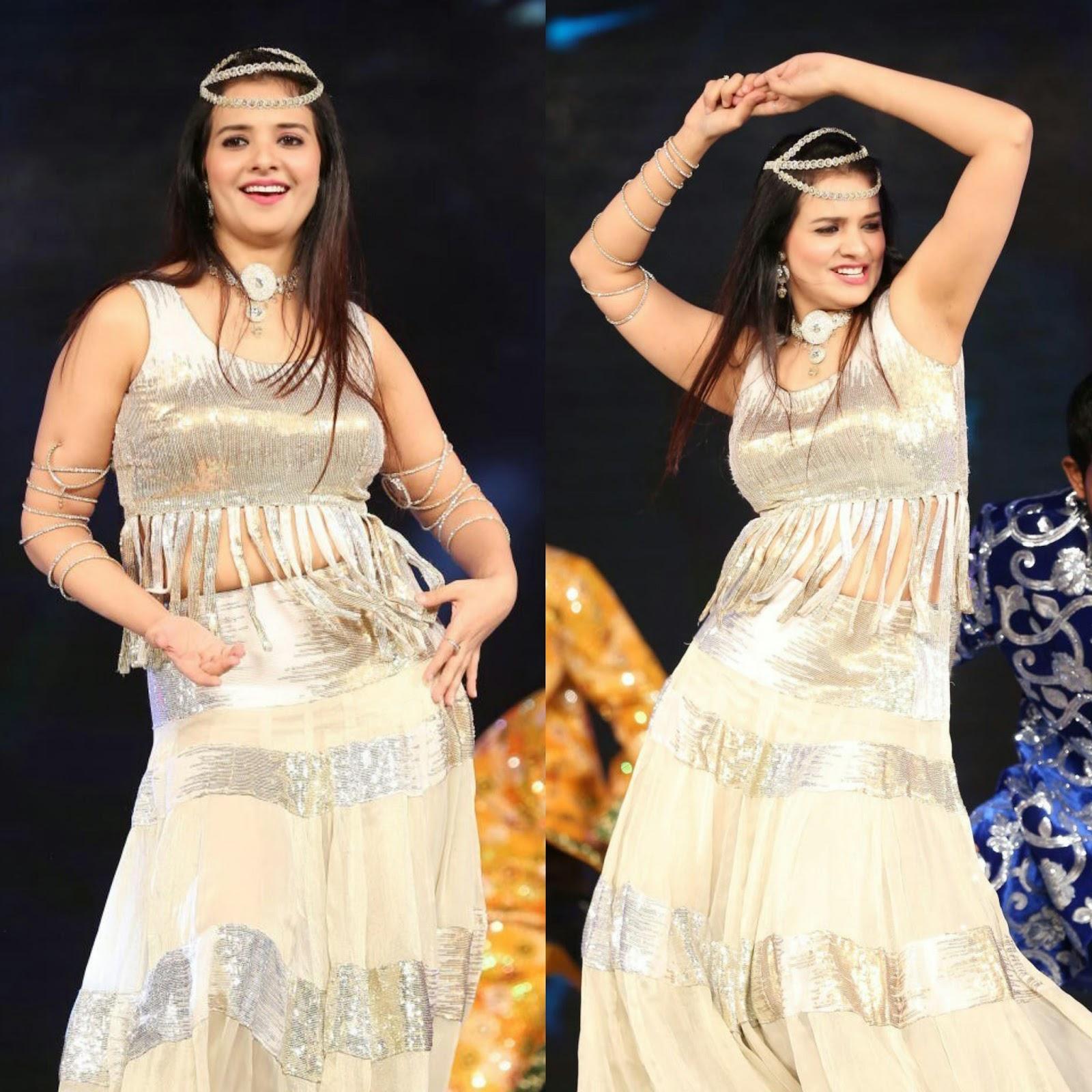 Actress Saloni Hot Spicy Dance Performance Photos Gallery at Gama Awards 2014