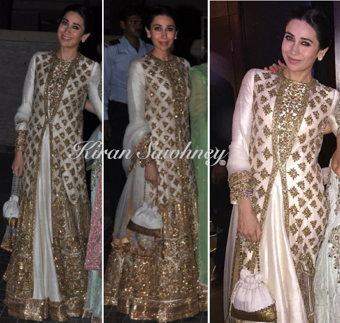 Karisma Kapoor at Soha & Kunal Wedding Reception