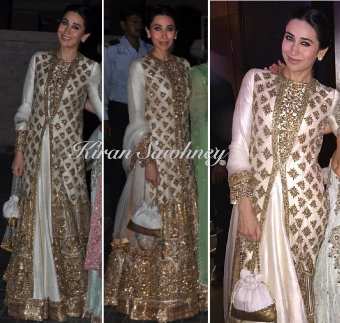 Karisma Kapoor at Soha & Kunal Wedding Reception