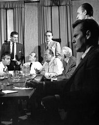 industrial psychology in 12 angry man Tuckman's model of group stages and 12 angry men i selected tuckman' model of group stages in order to discuss the group stages found in.