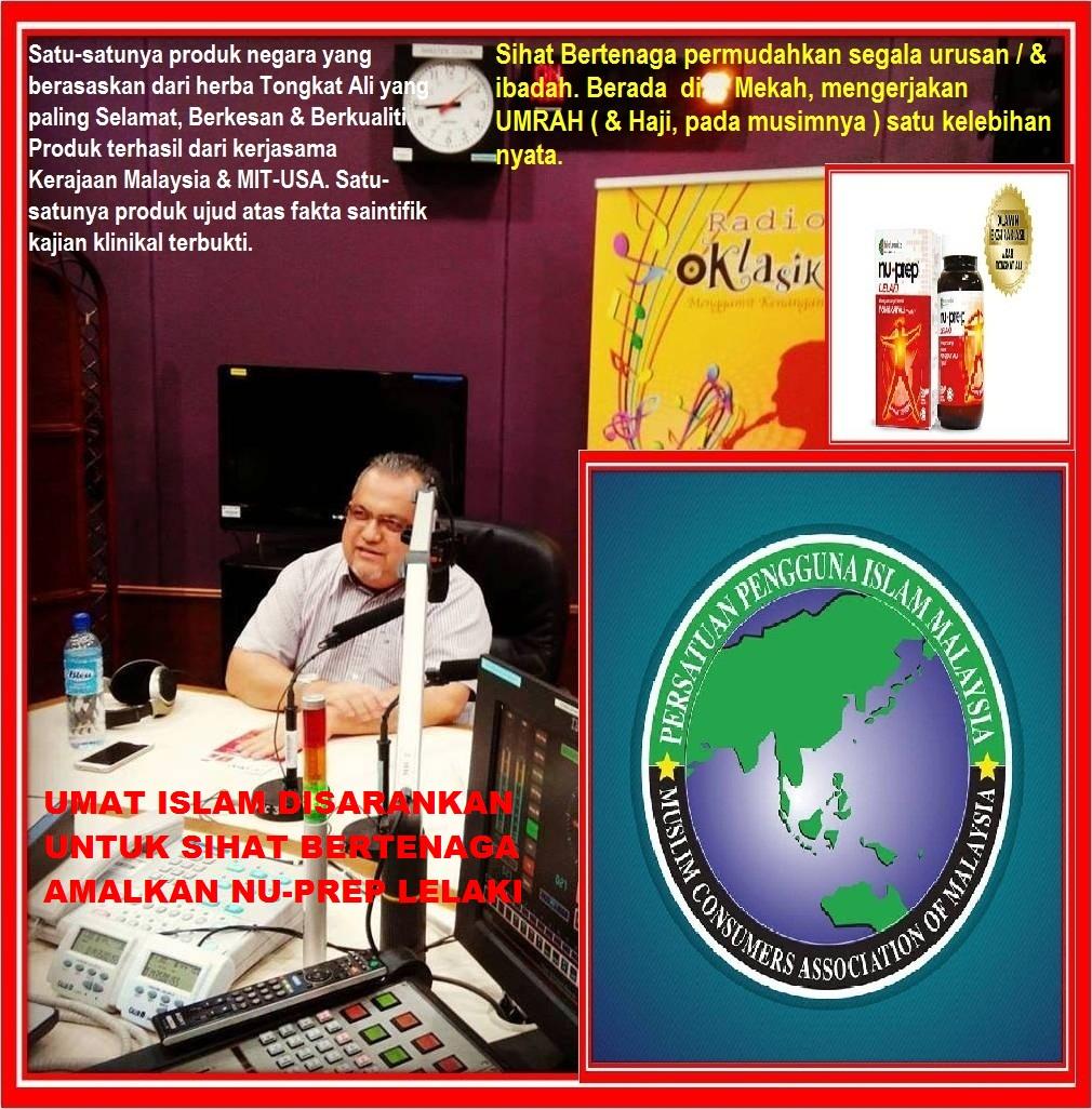 Radioklasik bersama Dato Dr Maamor PPIM dibawa KHAS oleh Nu-Prep lelaki
