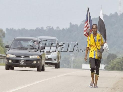Jalan Kaki Dari Kuantan Ke Shah Alam Tunai Nazar