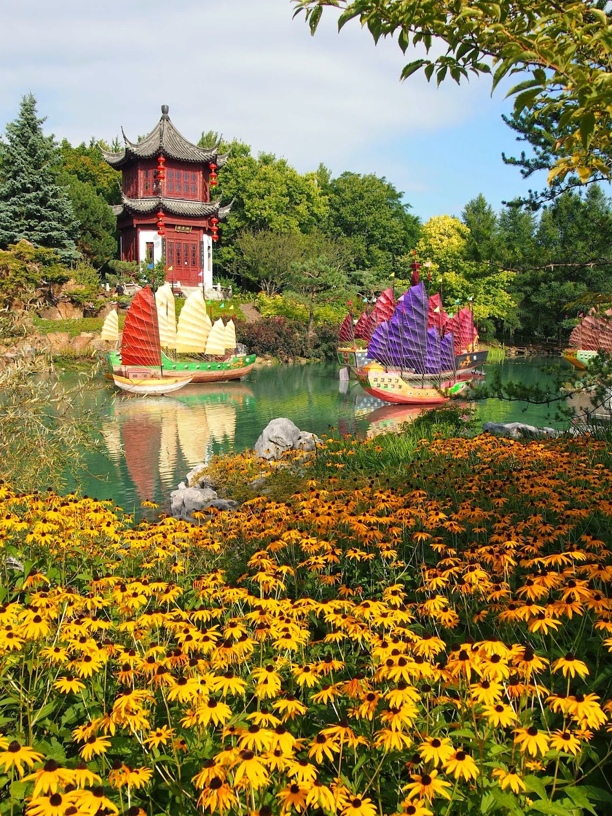 Chinese Garden Montreal Botanical Garden