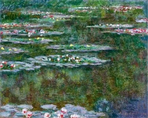 Клод Моне Водяные лилии. 1904 Sotheby's. 2007