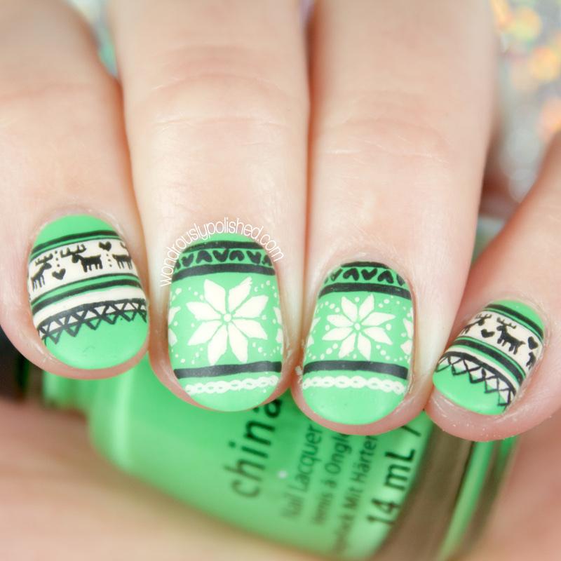 Wondrously Polished: 40 Great Nail Art Ideas - Winter