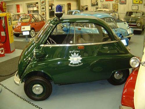 micro carros - microcars - BMW Isetta 300 Police