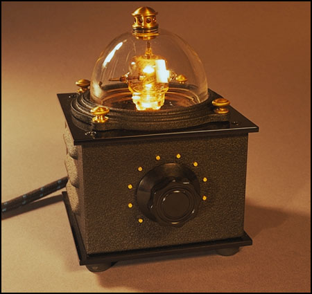 Diy audio electronics from steampunk art for Homemade electronic gadgets