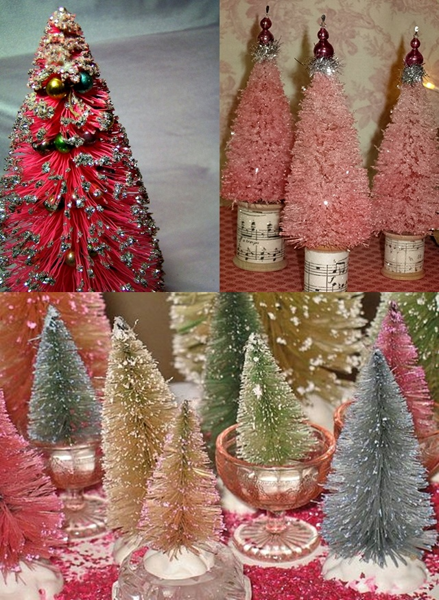 Homemade christmas decorations christmas tree artificial bottle