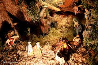 Portal de Belén del convento inmaculada concepcionistas