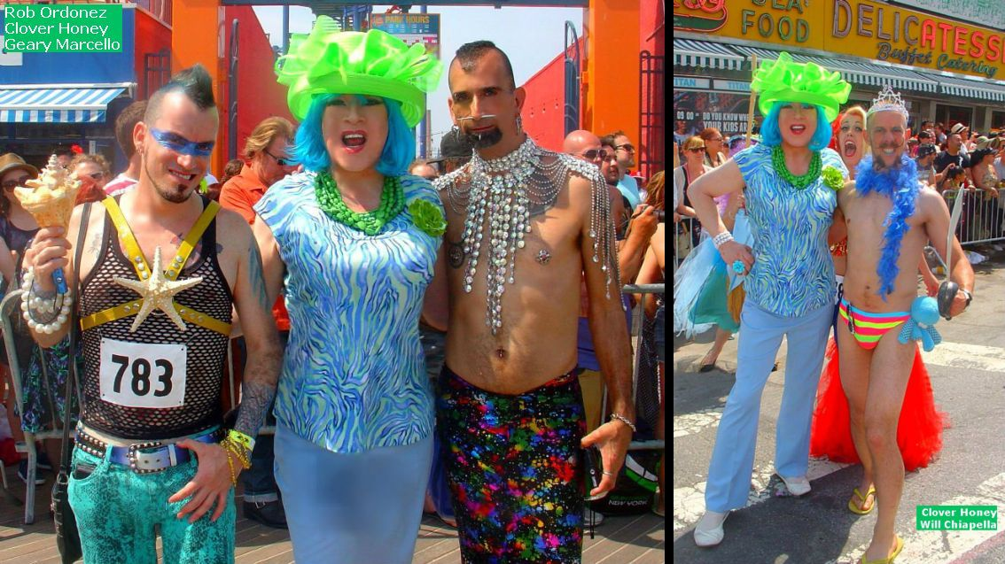 How sweet it is lady clover honey 39 s blog mermaid parade for Blums fishing almanac