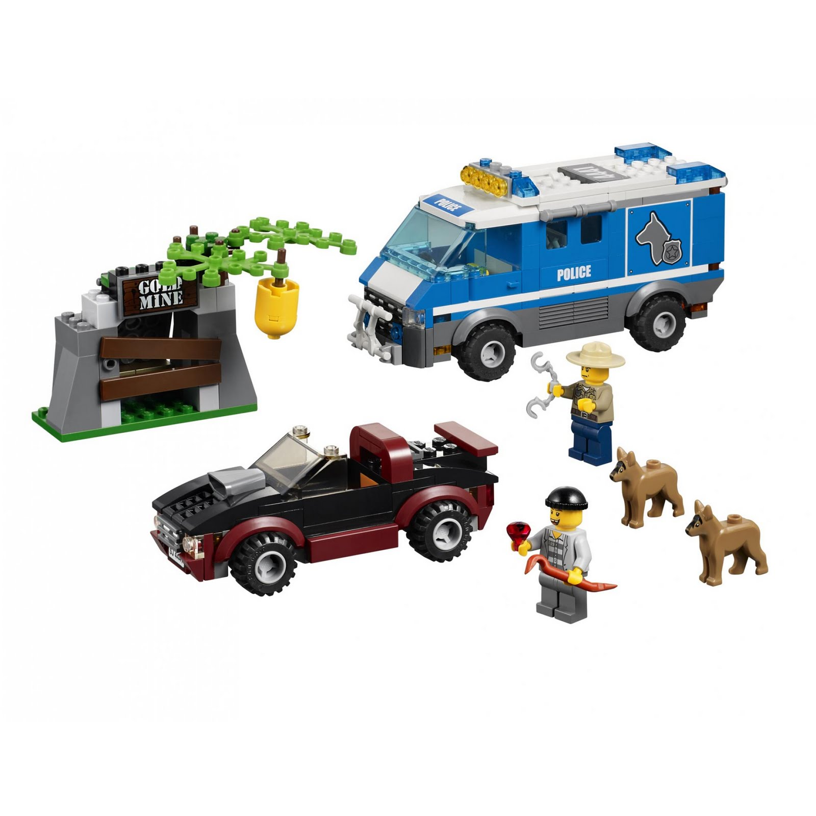 onetwobrick30 lego set database set database lego 4441 police dog van. Black Bedroom Furniture Sets. Home Design Ideas