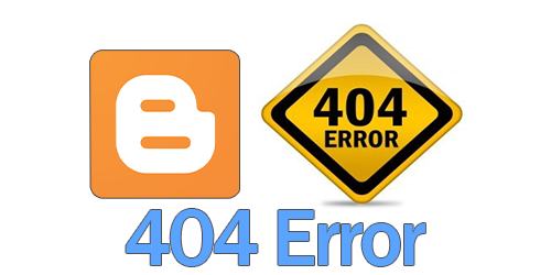 redirect 404 Error to blogger