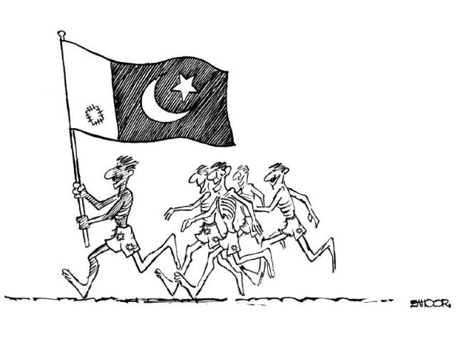 The Express Tribune Cartoon 14-8-2011