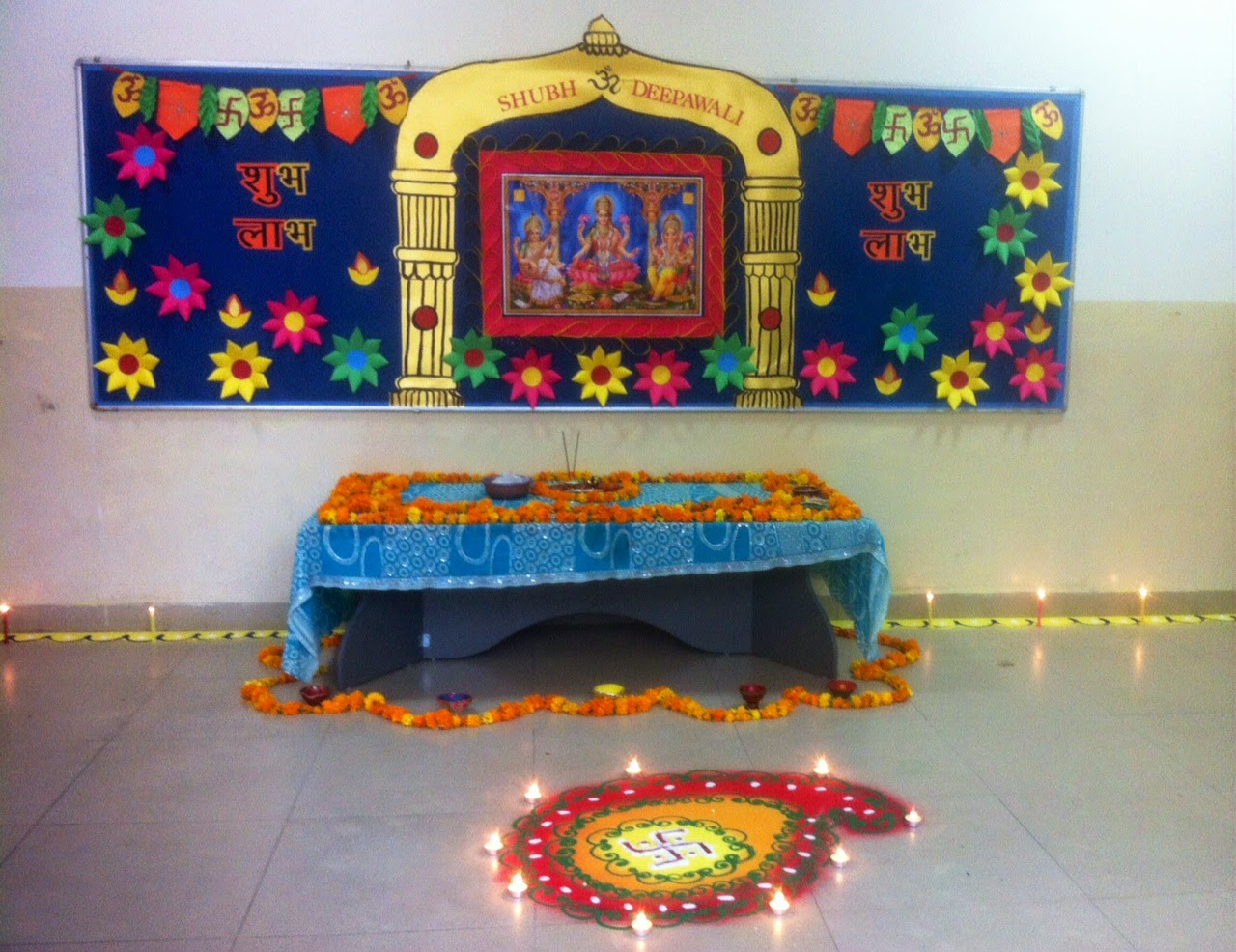 Art craft ideas and bulletin boards for elementary for Art and craft for diwali decoration