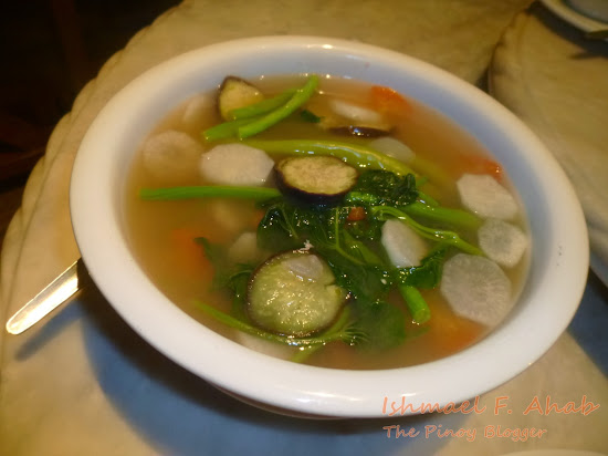Sinigang na hipon of Haim Chicken Inato