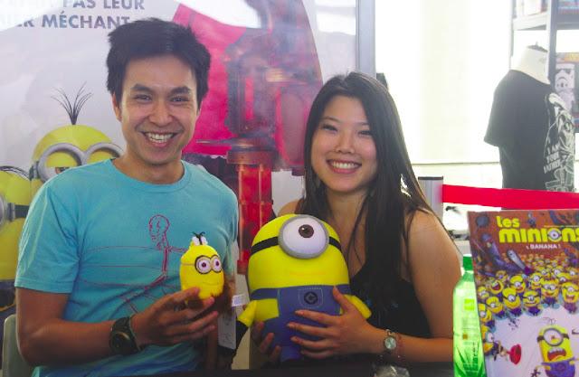 Didier Ah Koon et une fan jolie fille :)