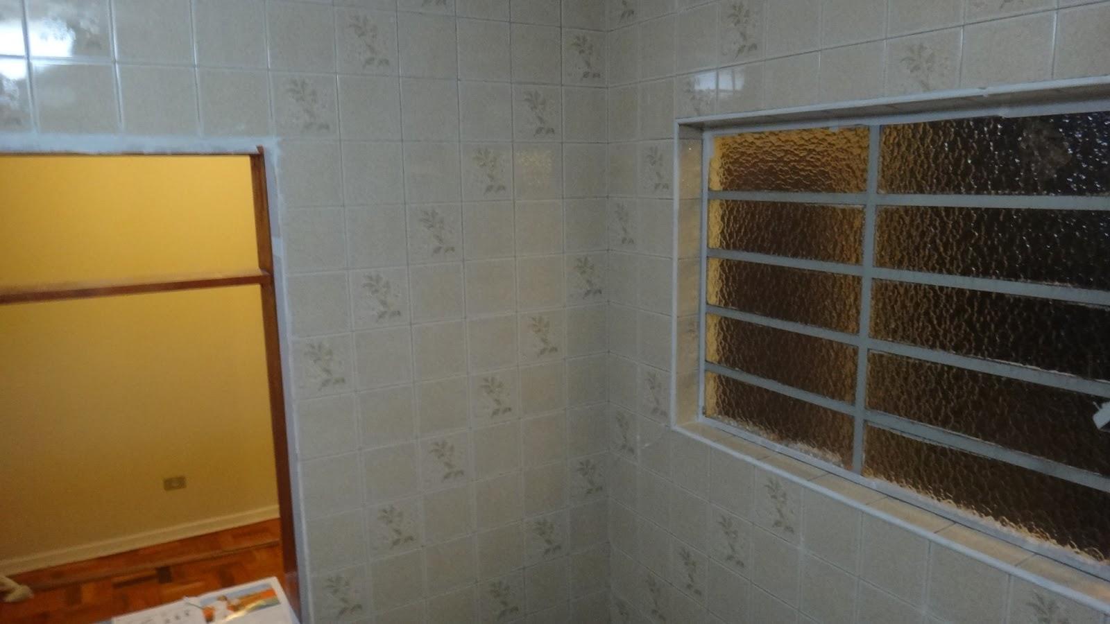 se esta casa fosse minha!?: SOS Cozinha! Pintando azulejos  #693A16 1600 900