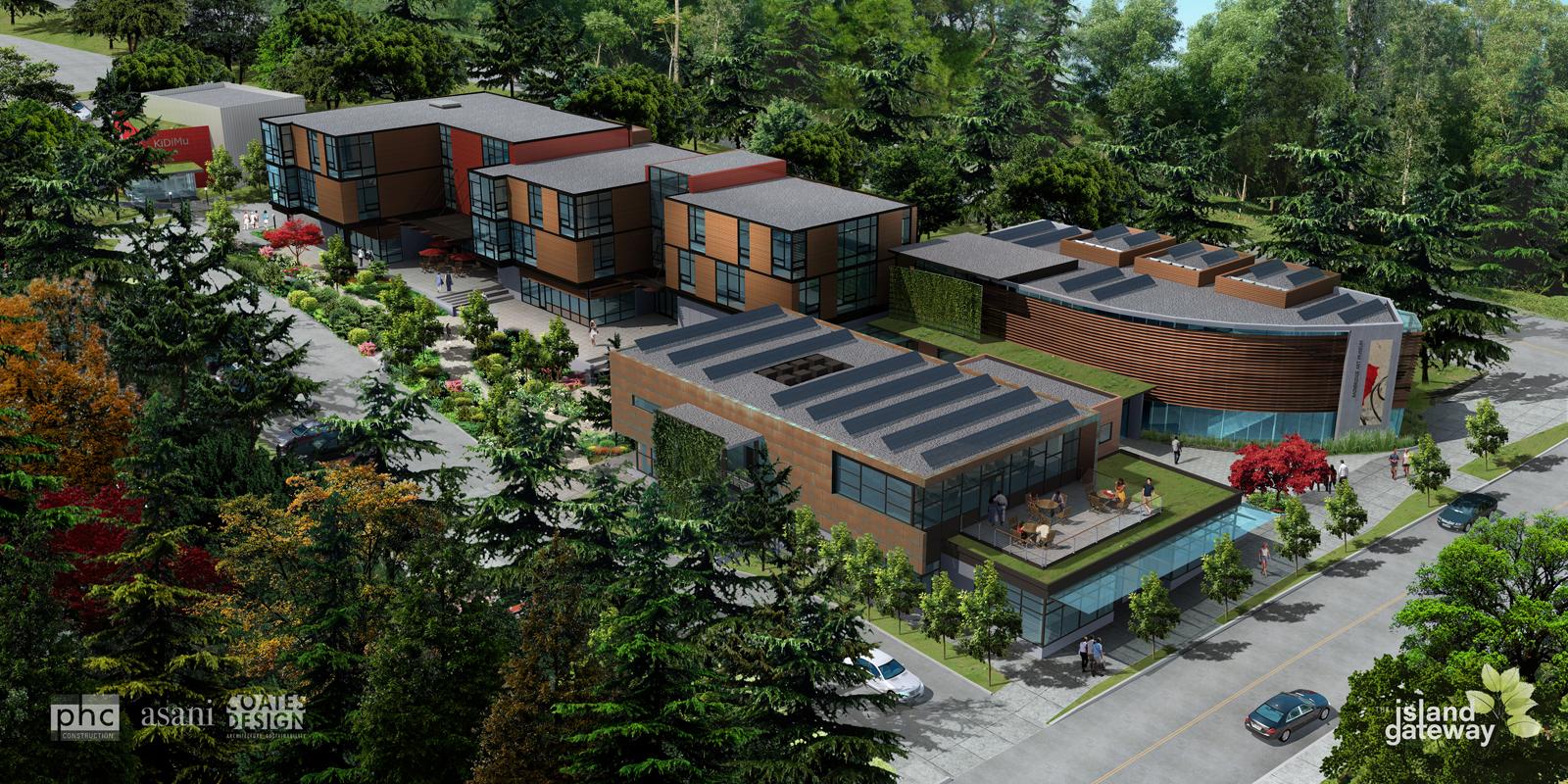 Phc construction bainbridge island s newest development for Bainbridge architects