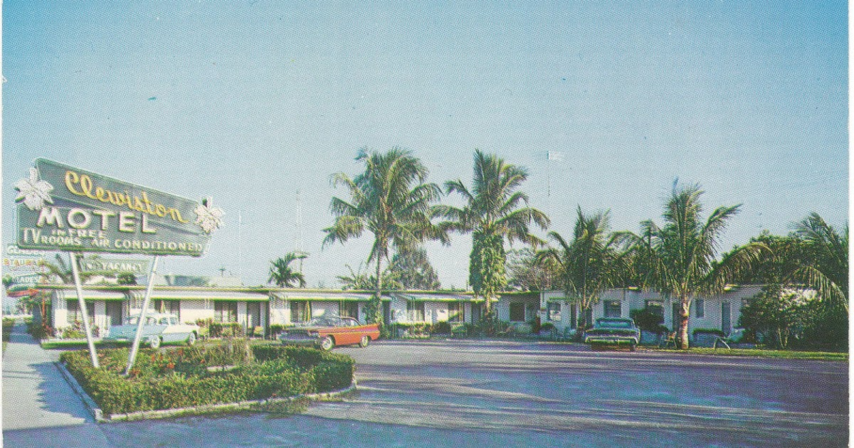 View From The Birdhouse More Mid Century Motel Postcards