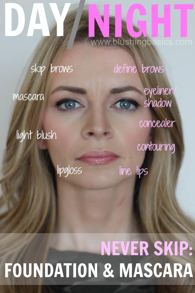 blushing basics: Day To Night #BeautyInspiration Tutorial