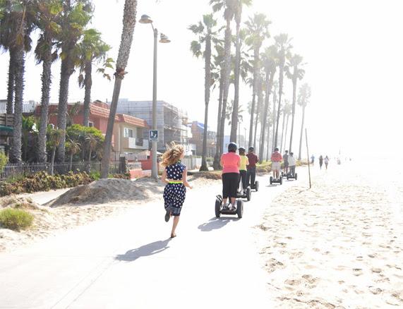 Polka Dots, Venice Beach, Segue