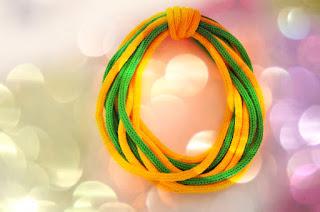 Zielono-żółty zamotek