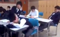 Trolling in Classroom Gone wrong