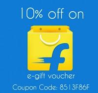 Giftxoxo: Flipkart E-Gift Voucher 10% & 1% off