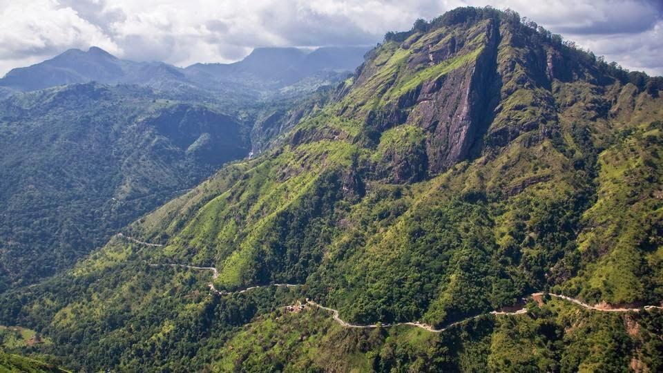 sri lanka travel guide map