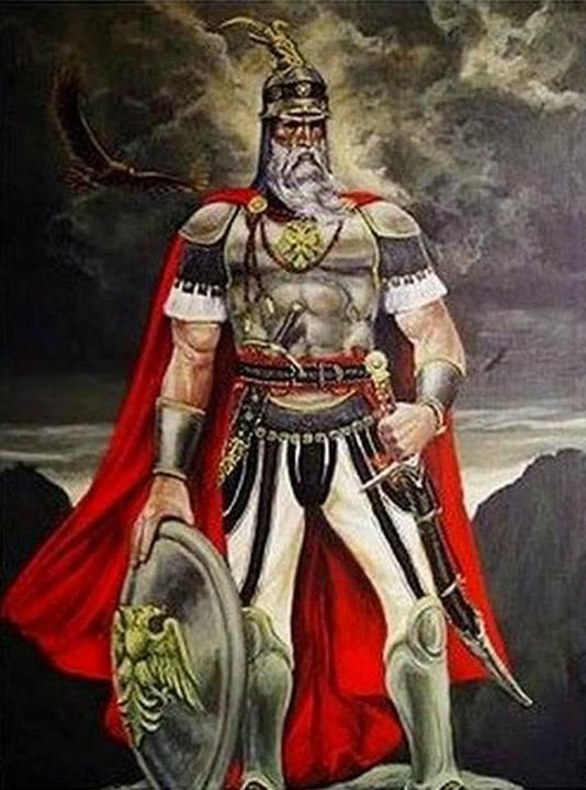 Il mito di Scanderbeg nell'universo culturale della sua nazione di Alberto Frasher