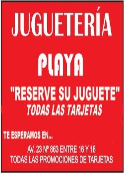 PLAYA-JUGUETERÍA