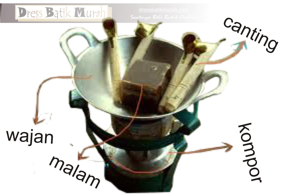 bahan untuk membuat batik cap cetakan bermotifkan batik lilin