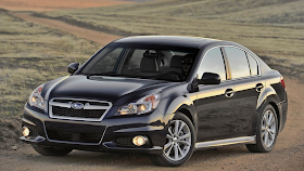 2013 Subaru Legacy black