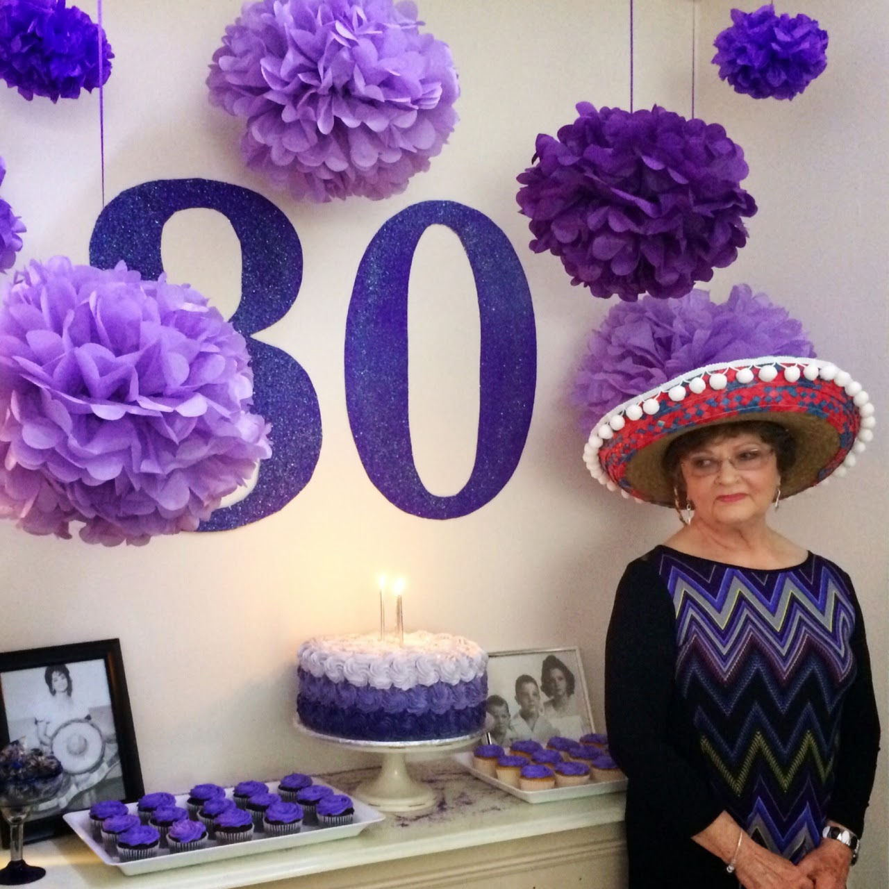 Southern fit 80th birthday party decor for 80th birthday decoration