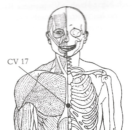 Self growth your way: Acupressure Point CV 17 for getting relief ...