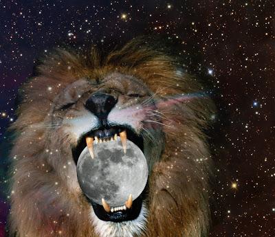 Лев, Луна, Звезды