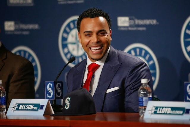 """Nelson Cruz fue galardonado ayer, como el """"Jugador Más Valioso 2014"""", en la premiación Jugador Dominicano de la Semana en Grandes Ligas."""