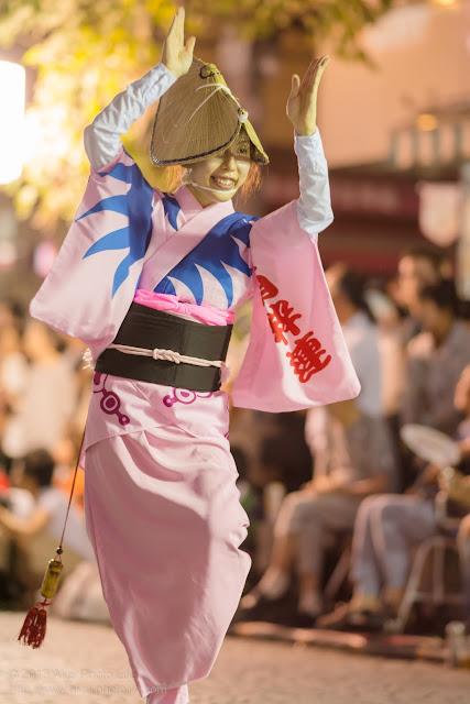 三鷹阿波踊り 南粋連の女踊り
