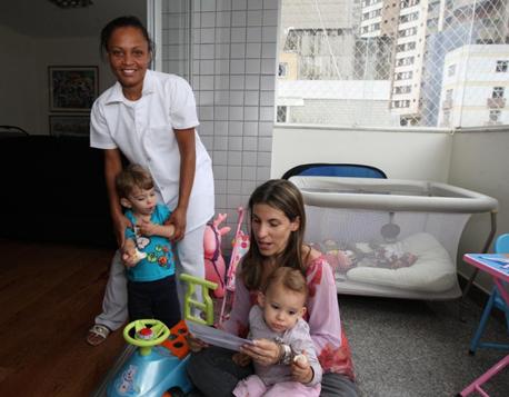 Branca Machado pretende dispensar a babá se tiver de arcar com custos maiores