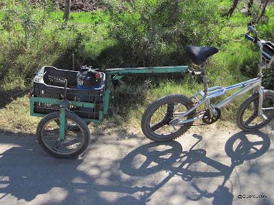 ¿Y la placa del remolque? Ciclismo rura l y real