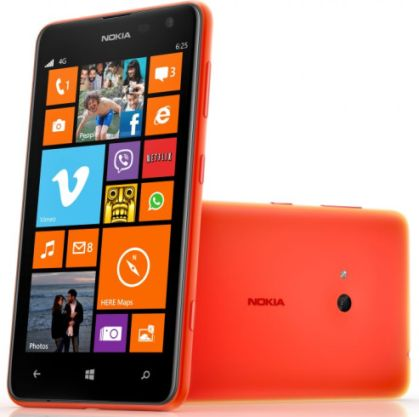 Nokia Lumia 625 with 4.7-inch Display 4G Smartphone