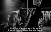 da igual donde nos encontremos, la luna es igual de grande en todas las partes del mundo.
