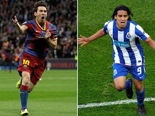 Lionel Messi y Falcao García, Conquistaron Europa