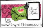 Please visit Royal Ribbons to order personalized ribbon!